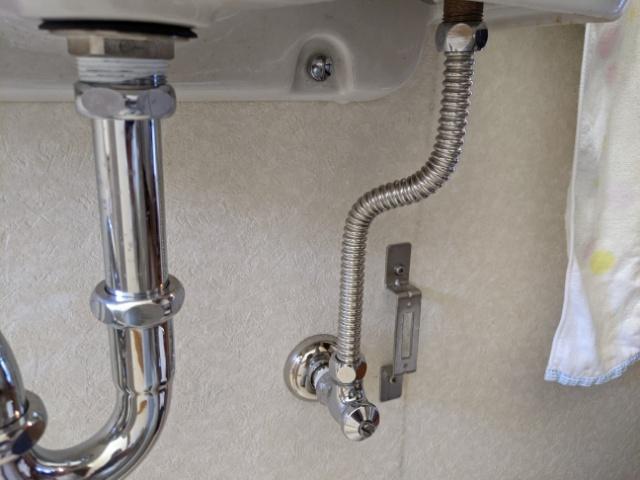 清水町洗面水栓修理