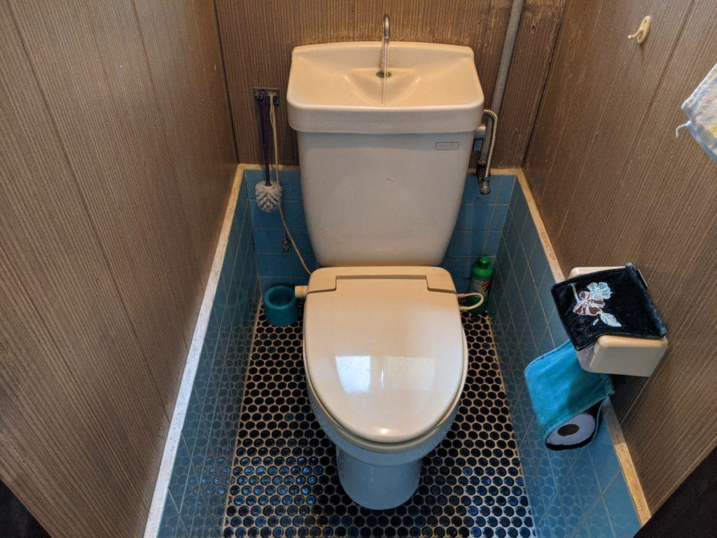 静岡市葵区、トイレ修理後