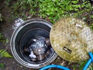 掛川市排水つまり