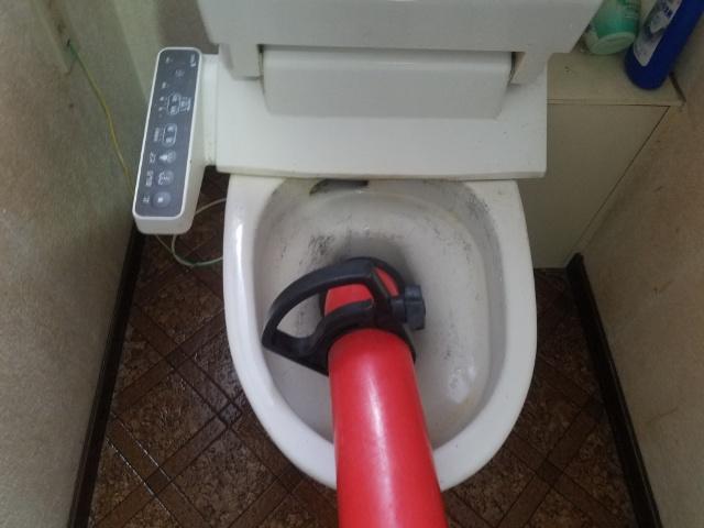 掛川市トイレつまり