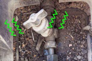 コマ式止水栓
