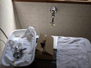 掛川市洗濯水栓