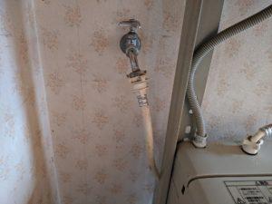 島田市洗濯水栓交換