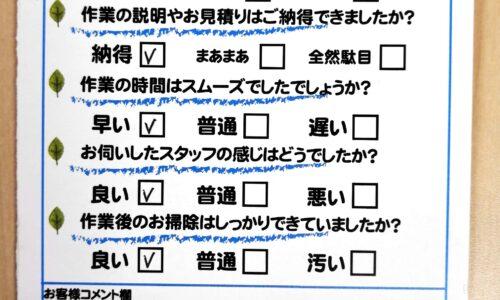 吉田町川尻 台所水栓修理