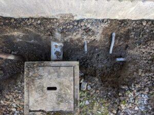 吉田町給水管修理