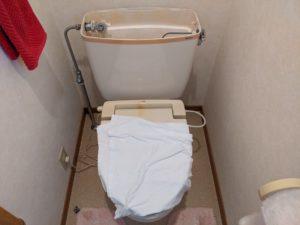 三島市徳倉、トイレ修理点検