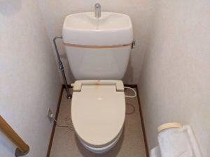 三島市徳倉、トイレ水漏れ修理