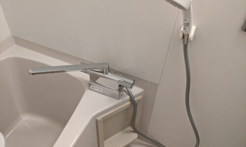 御前崎市池新田 浴室水栓交換