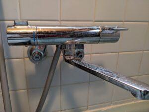 浴室水栓水漏れ