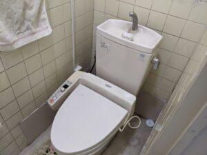静岡市葵区トイレ修理前