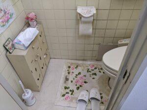 トイレ修繕前