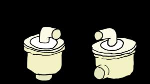 洗濯排水トラップ