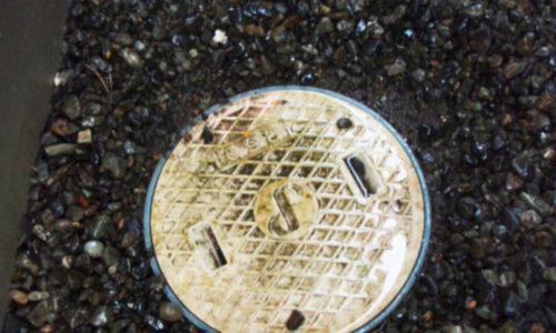 下水つまり修理作業(静岡市葵区)