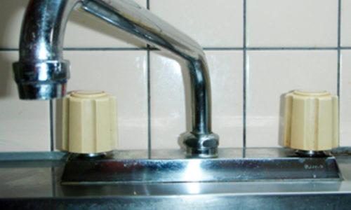 台所水栓修理工事(静岡市駿河区)
