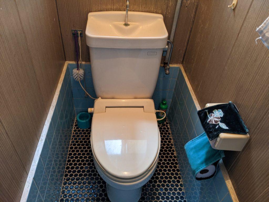 静岡市葵区 トイレ修理前