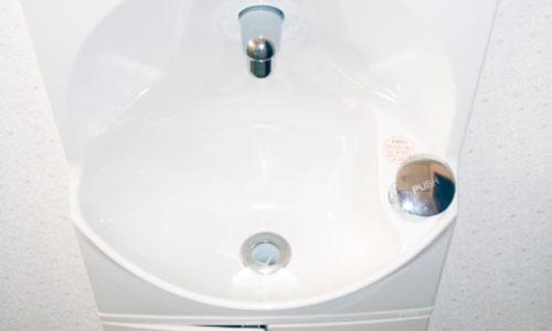 トイレ内手洗い器設置工事(静岡市清水区)