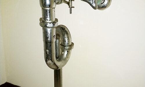 裾野市茶畑 洗面排水管修理