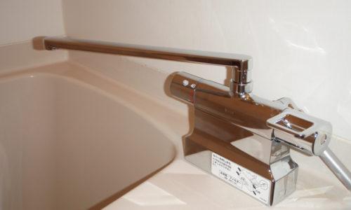 浴室水栓交換工事(静岡市葵区)