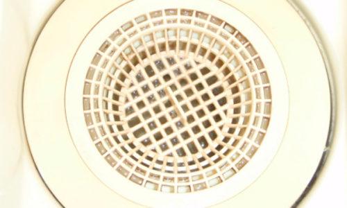 浴室排水口のつまり解消工事(藤枝市)