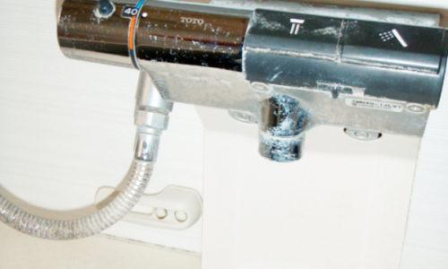 浴室水栓修理工事(静岡市駿河区)