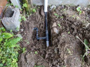 水道管水漏れ