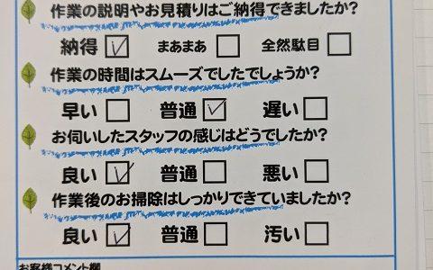 島田市御仮屋町 トイレ修理