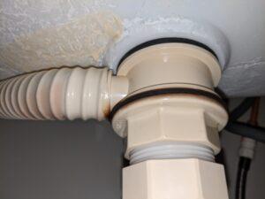 焼津市洗面台排管修理