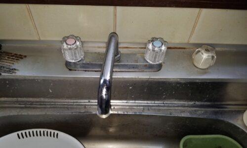 牧之原市 台所水栓交換
