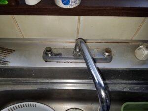 牧之原市台所水栓交換