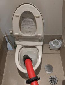 長泉町トイレつまり抜き