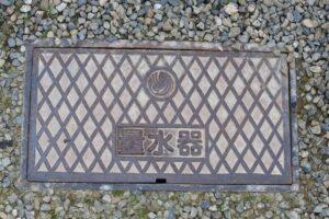 鋳鉄製(ちゅうてつ)量水器ボックス