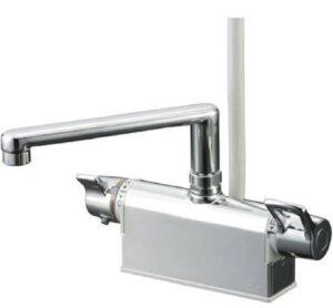 サーモスタット混合水栓(台付き)