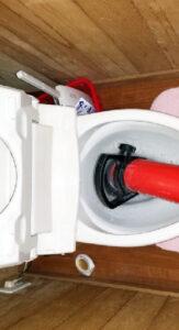 藤枝市トイレつまり